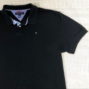 Tommy Hilfiger Polo Short Sleeve Black XL